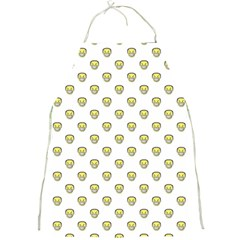 Angry Emoji Graphic Pattern Full Print Aprons