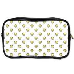 Angry Emoji Graphic Pattern Toiletries Bags