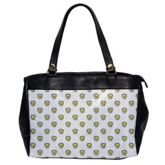 Angry Emoji Graphic Pattern Office Handbags