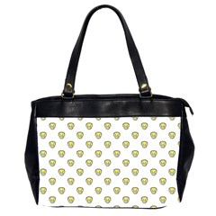 Angry Emoji Graphic Pattern Office Handbags (2 Sides)