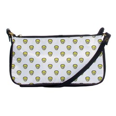 Angry Emoji Graphic Pattern Shoulder Clutch Bags