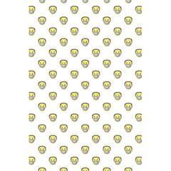 Angry Emoji Graphic Pattern 5.5  x 8.5  Notebooks