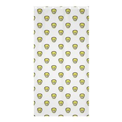 Angry Emoji Graphic Pattern Shower Curtain 36  x 72  (Stall)