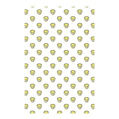 Angry Emoji Graphic Pattern Shower Curtain 48  x 72  (Small)