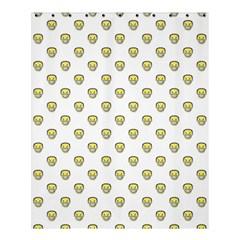 Angry Emoji Graphic Pattern Shower Curtain 60  x 72  (Medium)