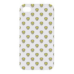 Angry Emoji Graphic Pattern Apple iPhone 4/4S Hardshell Case
