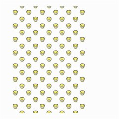 Angry Emoji Graphic Pattern Small Garden Flag (Two Sides)