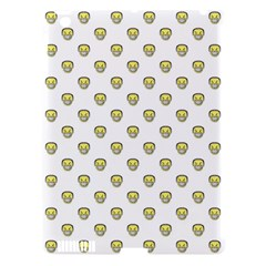 Angry Emoji Graphic Pattern Apple iPad 3/4 Hardshell Case (Compatible with Smart Cover)