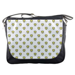 Angry Emoji Graphic Pattern Messenger Bags