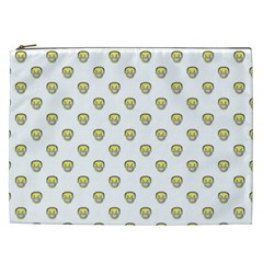 Angry Emoji Graphic Pattern Cosmetic Bag (XXL)