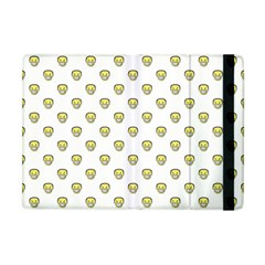 Angry Emoji Graphic Pattern Apple iPad Mini Flip Case