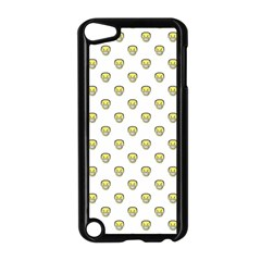 Angry Emoji Graphic Pattern Apple iPod Touch 5 Case (Black)