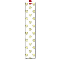 Angry Emoji Graphic Pattern Large Book Marks
