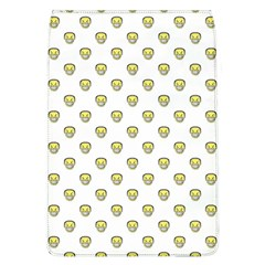 Angry Emoji Graphic Pattern Flap Covers (L)
