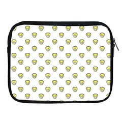 Angry Emoji Graphic Pattern Apple iPad 2/3/4 Zipper Cases