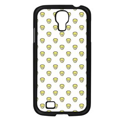 Angry Emoji Graphic Pattern Samsung Galaxy S4 I9500/ I9505 Case (Black)