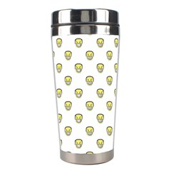 Angry Emoji Graphic Pattern Stainless Steel Travel Tumblers