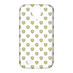 Angry Emoji Graphic Pattern Samsung Galaxy S4 Classic Hardshell Case (PC+Silicone)