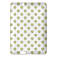 Angry Emoji Graphic Pattern Kindle Fire HDX Hardshell Case