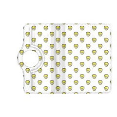 Angry Emoji Graphic Pattern Kindle Fire HD (2013) Flip 360 Case