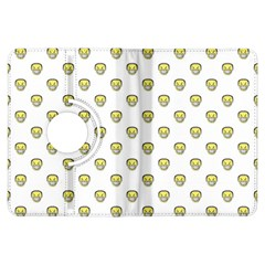 Angry Emoji Graphic Pattern Kindle Fire HDX Flip 360 Case