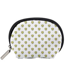 Angry Emoji Graphic Pattern Accessory Pouches (Small)