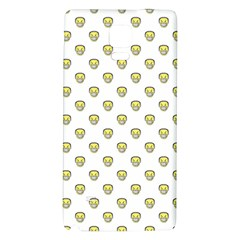 Angry Emoji Graphic Pattern Galaxy Note 4 Back Case