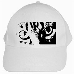Cat White Cap