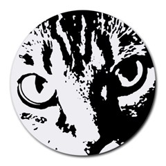 Cat Round Mousepads