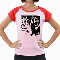Cat Women s Cap Sleeve T-Shirt