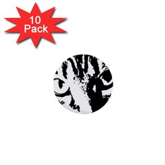 Cat 1  Mini Buttons (10 pack)