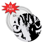 Cat 2.25  Buttons (10 pack)  Front