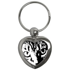 Cat Key Chains (Heart)