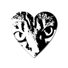 Cat Heart Magnet