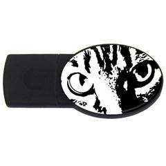 Cat USB Flash Drive Oval (2 GB)