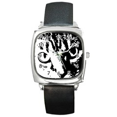 Cat Square Metal Watch