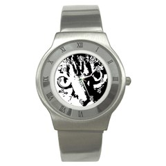 Cat Stainless Steel Watch