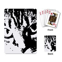 Cat Playing Card