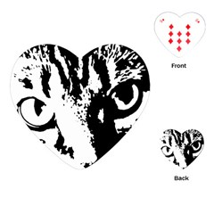 Cat Playing Cards (Heart)