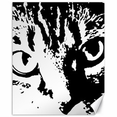 Cat Canvas 16  x 20