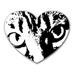 Cat Heart Mousepads