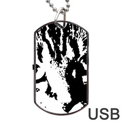 Cat Dog Tag USB Flash (Two Sides)