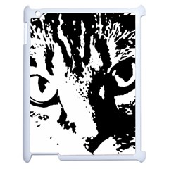 Cat Apple iPad 2 Case (White)