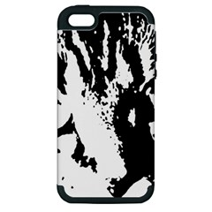 Cat Apple iPhone 5 Hardshell Case (PC+Silicone)