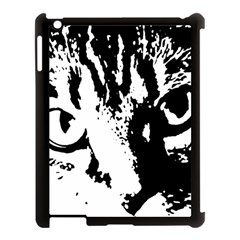 Cat Apple iPad 3/4 Case (Black)