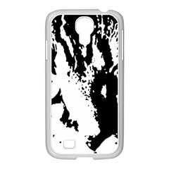 Cat Samsung GALAXY S4 I9500/ I9505 Case (White)