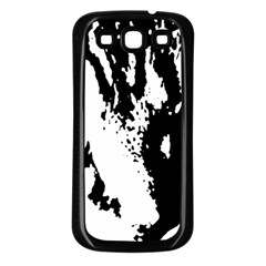 Cat Samsung Galaxy S3 Back Case (Black)