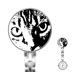 Cat Stainless Steel Nurses Watch