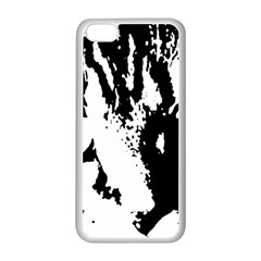 Cat Apple iPhone 5C Seamless Case (White)
