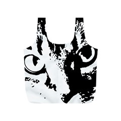 Cat Full Print Recycle Bags (S)